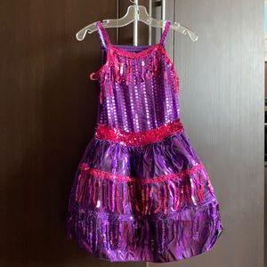 Girls Dance dress size 5-6